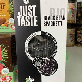 פסטה ללא גלוטן עשויה משעועית שחורה אורגנית