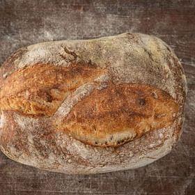 לחם מחמצת צרפתי טרי לחם בארי