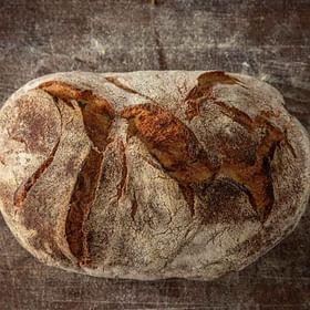 לחם מחמצת הבית טרי לחם בארי