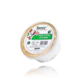 ממרח גבינה קרמית לבנה טבעוני. רכיבים טבעיים. איכותי TamiZ