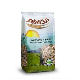 אורז פרא מעורב אורגני
