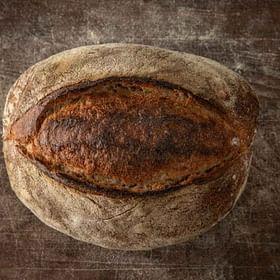 לחם מחמצת כפרי טרי לחם בארי