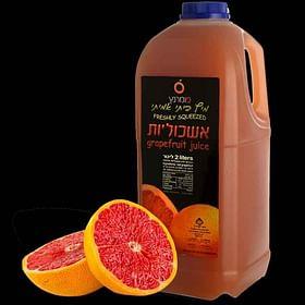 מיץ אשכוליות טבעי פומרנץ