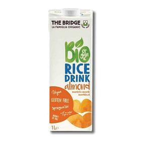 משקה אורז אורגני בתוספת שקדים - THE BRIDGE ליטר